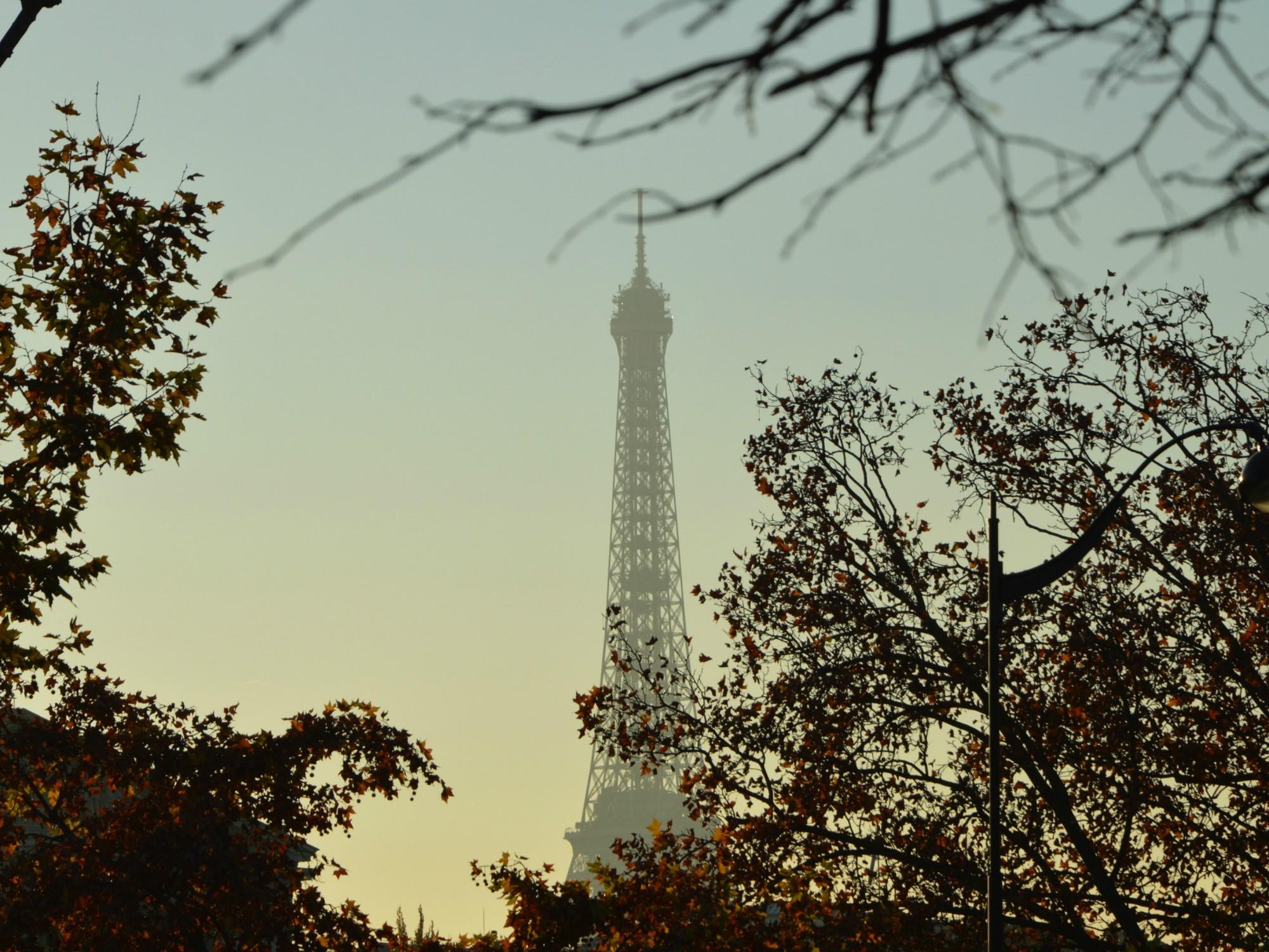 La Tour Eiffel, automne 2015