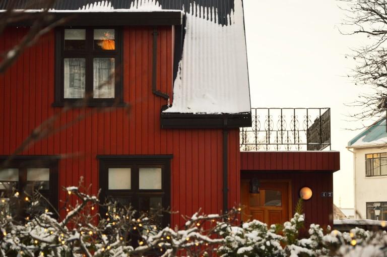 Une charmante petite maison de Reykjavik