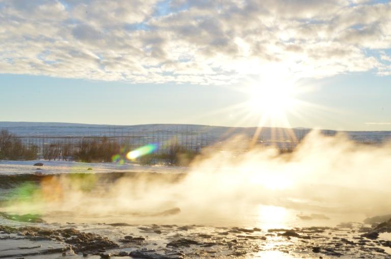 Site de Geysir, Islande