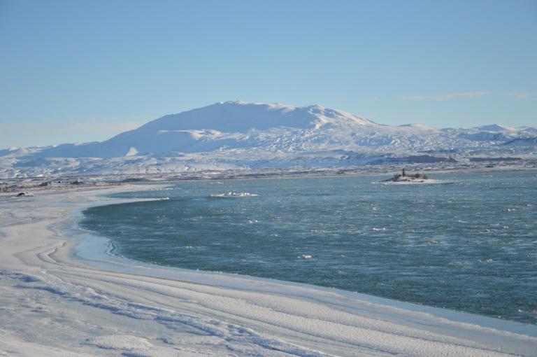 Une rivière au milieu de nulle part, Islande