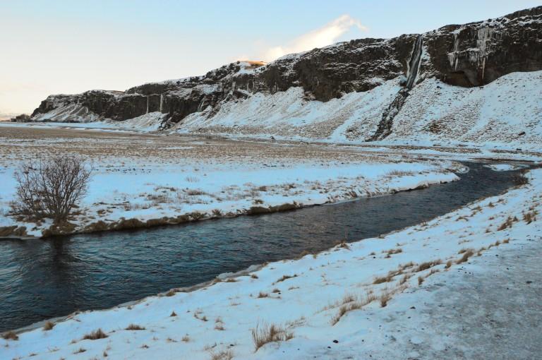 Bras de rivières en Islande