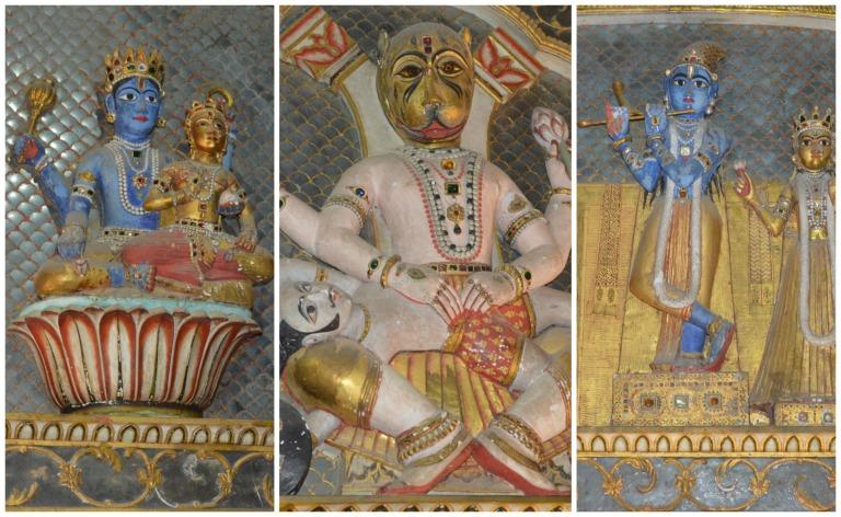 Statues religieuses en Inde