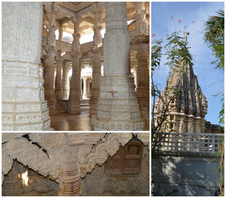 Dans les temples en Inde